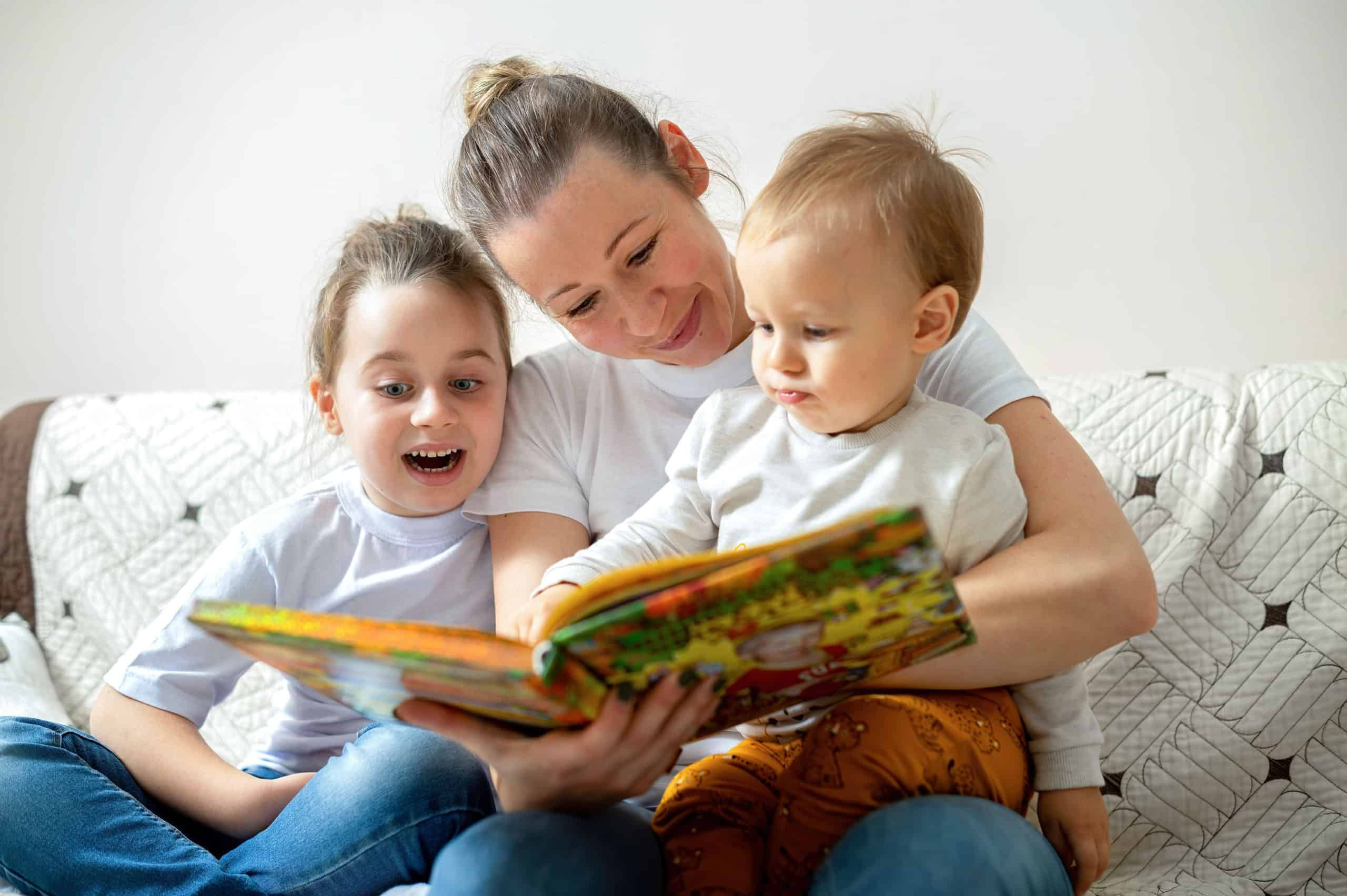 Importance of Reading for Children at Home